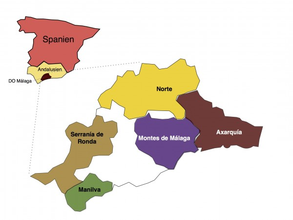 Wine-growing areas Malaga