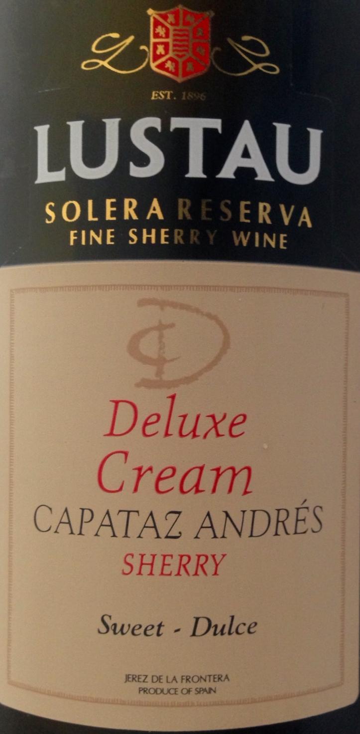 Deluxe Cream Capataz Andres Lustau