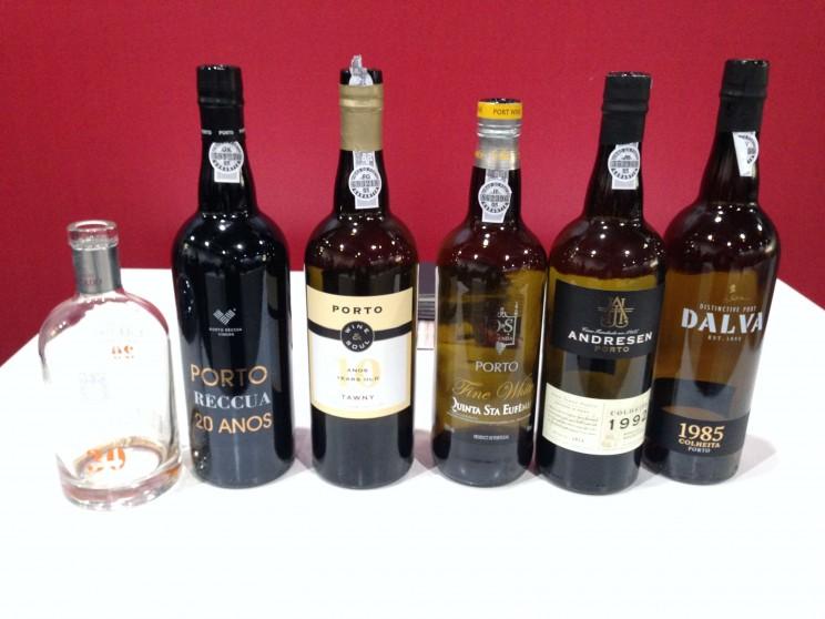 Portweinverkostung Tawny Jewels Prowein 2015