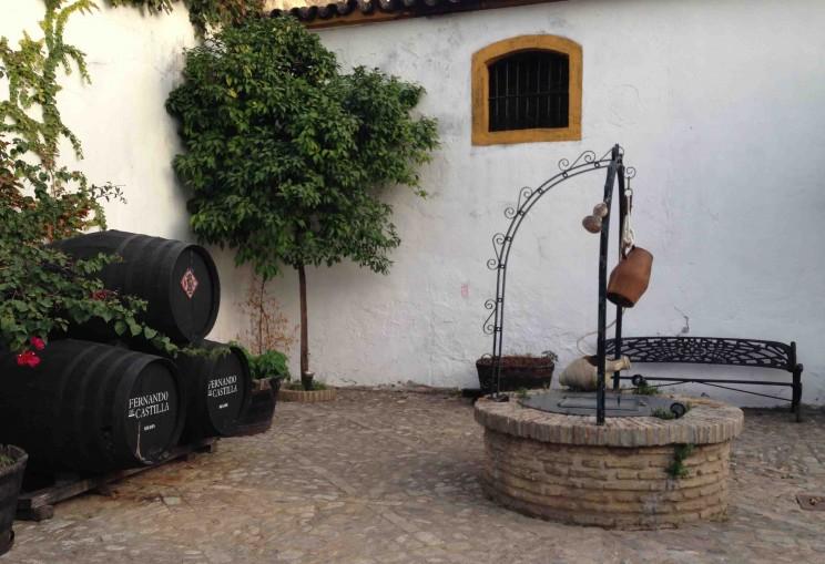 Innenhof Fernando de Castilla