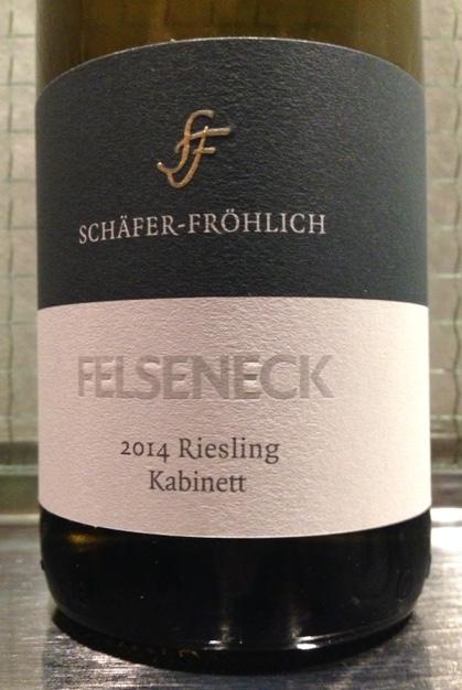 Felseneck Riesling Kabinett 2014 Schaefer-Froehlich