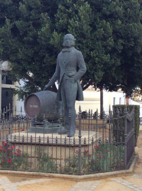 Denkmal des Tio Pepe in Jerez